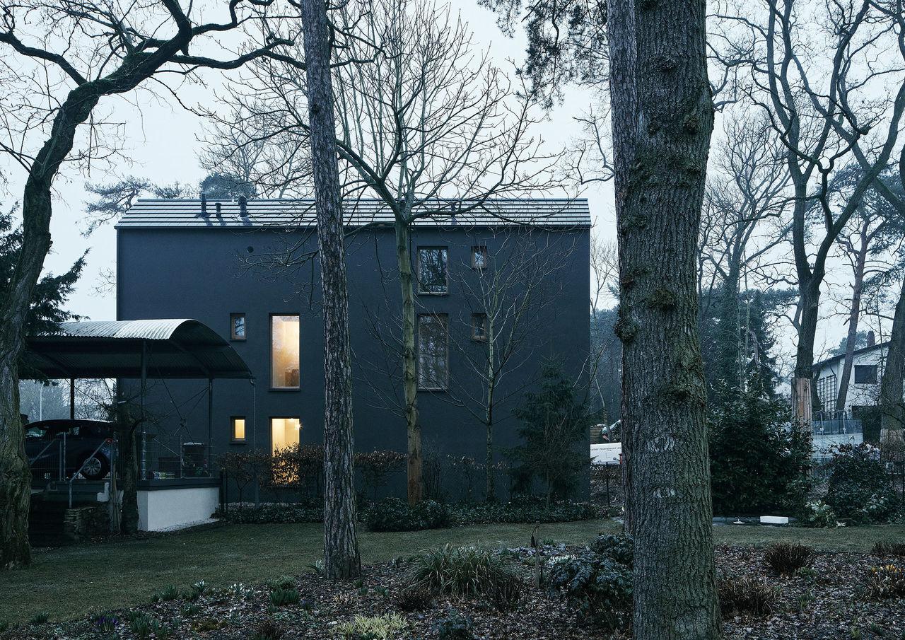 Schwarzes Haus architektenkammer rheinland pfalz detail