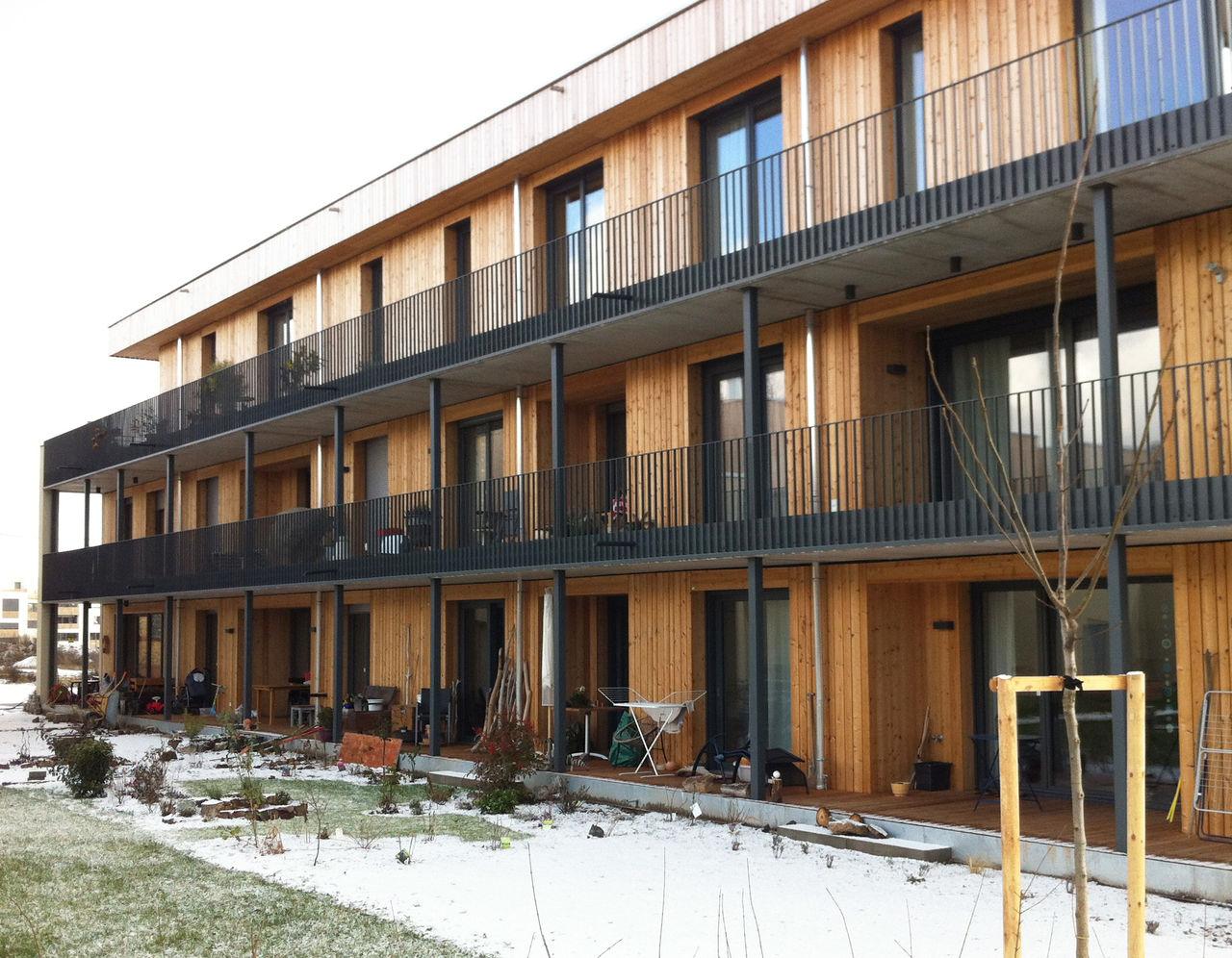 Architektur in deutschland deutschland brandenburg dahlewitz wohnhaus des architekten bruno - Architekten deutschland ...